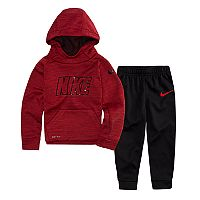 Toddler Boy Nike 2-pc. Therma-FIT Hoodie & Jogger Pants Set