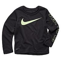 Toddler Boy Nike Just Do It Dri-FIT Thermal Tee