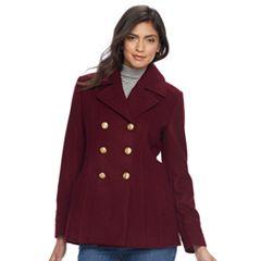 Women's Apt. 9® Wool Blend Peacoat