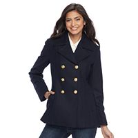 Women's Apt. 9® Wool Blend Peacoat