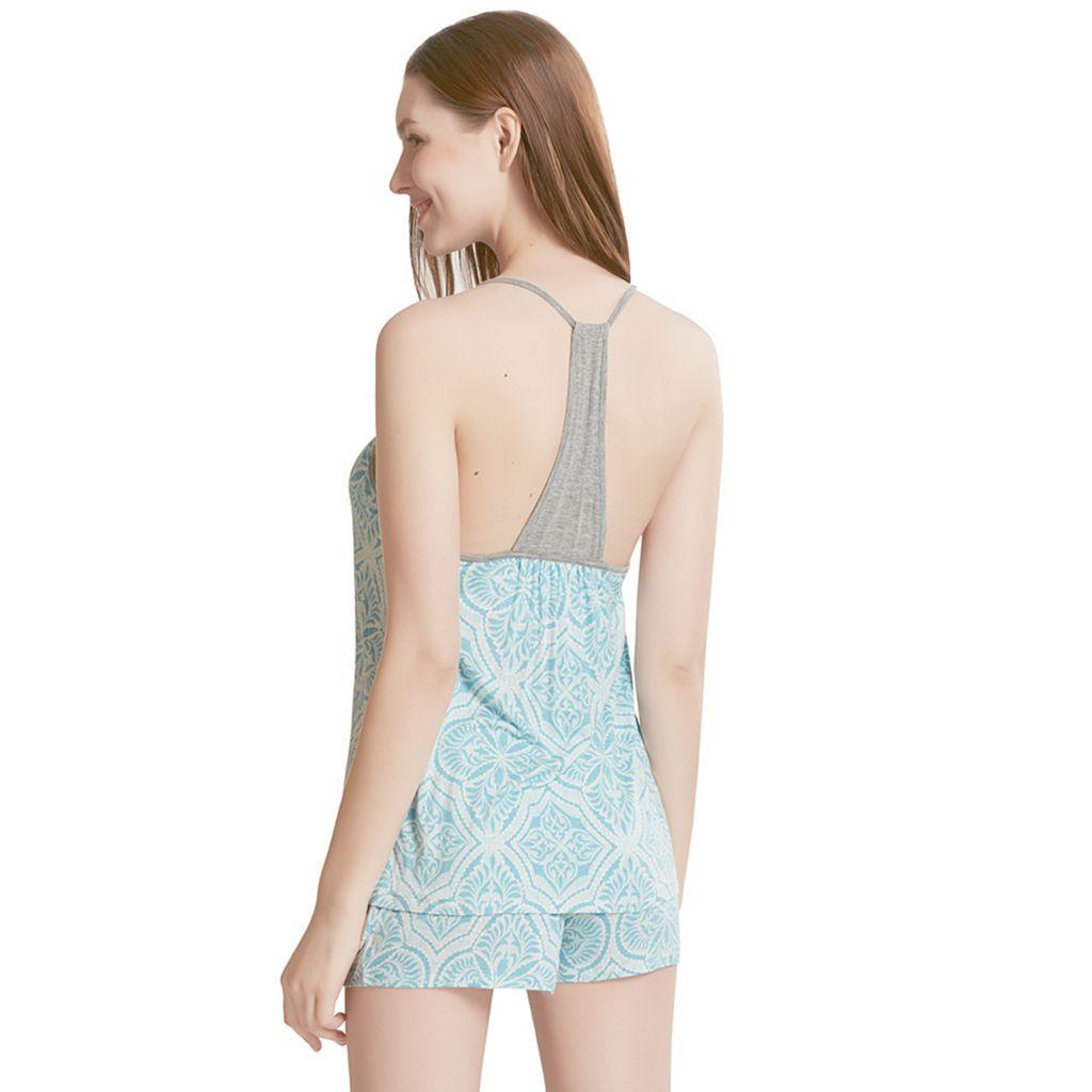 Women's INK+IVY Pajamas: Bohemian Nights Cami & Shorts PJ Set