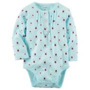 Baby Girl Carter's Alpaca Print Bodysuit