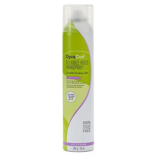 DevaCurl Flexible Hold Hairspray Touchable Finishing Styler