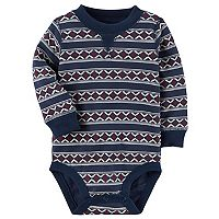 Baby Boy Carter's Patterned Stripe Bodysuit