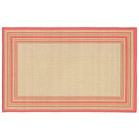 Trans Ocean Imports Liora Manne Terrace Multi Border Indoor Outdoor Rug