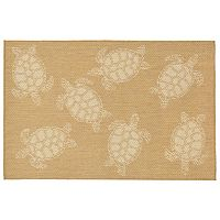 Trans Ocean Imports Liora Manne Terrace Sea Turtle Indoor Outdoor Rug