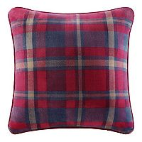 Cuddl Duds Navy & Red Plaid Oversized Throw Pillow