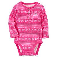 Baby Girl Carter's Fairisle Bodysuit