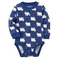 Baby Boy Carter's Polar Bear Graphic Bodysuit