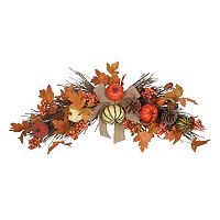Celebrate Fall Together Artificial Pumpkin Wall Decor