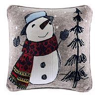 Cuddl Duds Snowman Oversized Throw Pillow