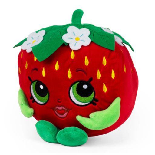 Girls Shopkins Strawberry Kiss Plush Bank