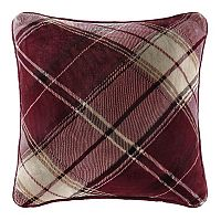 Cuddl Duds Red Plaid Oversized Throw Pillow