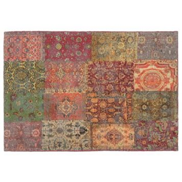 Trans Ocean Imports Liora Manne Marbella Old Persian Patchwork Rug