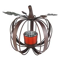 Celebrate Fall Together Metal Pumpkin Table Decor