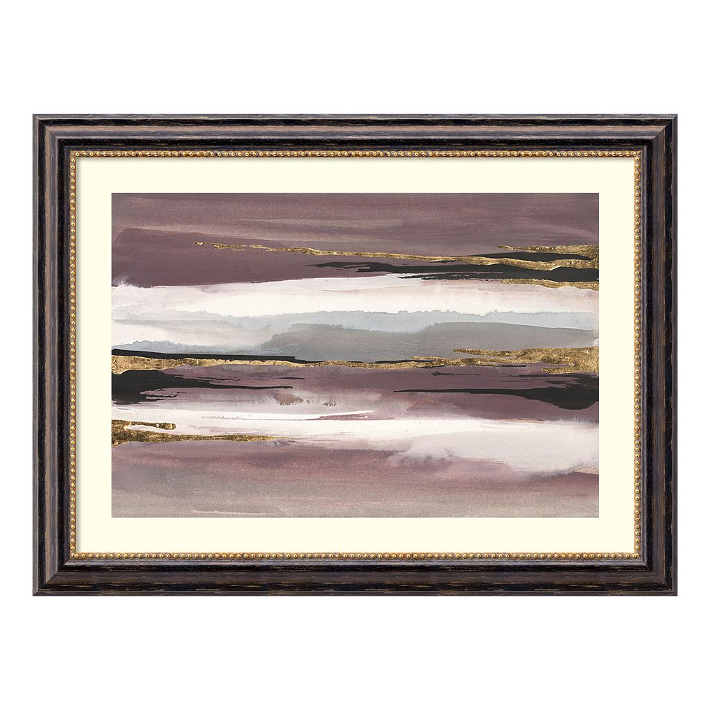 Amanti Art Gilded Storm II Framed Wall Art