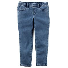 Baby Girl Carter's Denim Pull-On Pants