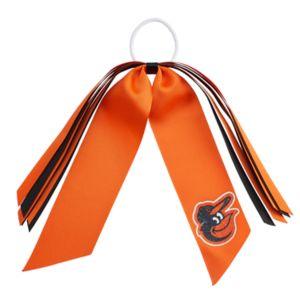 Baltimore Orioles Ribbon Ponytail Streamer
