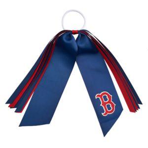 Boston Red Sox Ribbon Ponytail Streamer