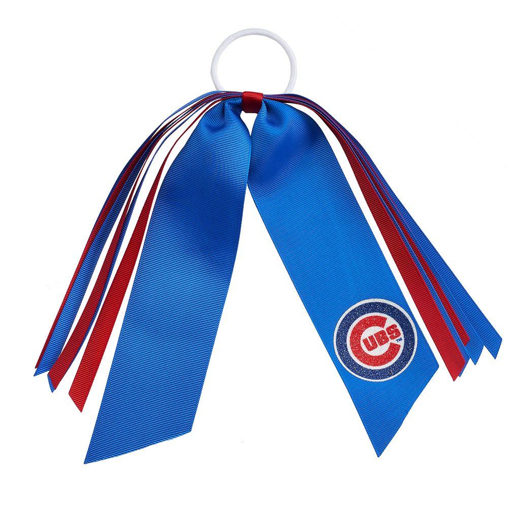 Chicago Cubs Ribbon Ponytail Streamer
