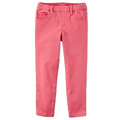 Baby Girl Carter's Pink Pull-On Pants