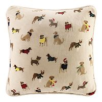 Cuddl Duds Dogs Oversized Throw Pillow