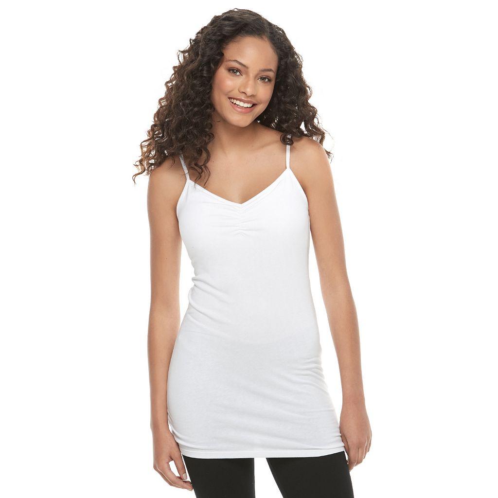 Juniors' SO® Solid Tunic Camisole