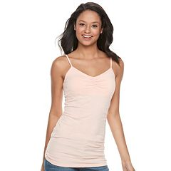 Juniors' SO® Solid Tunic Camisole