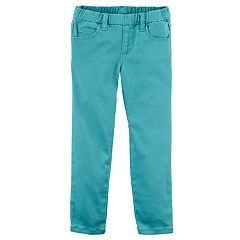 Baby Girl Carter's Twill Pull-On Pants