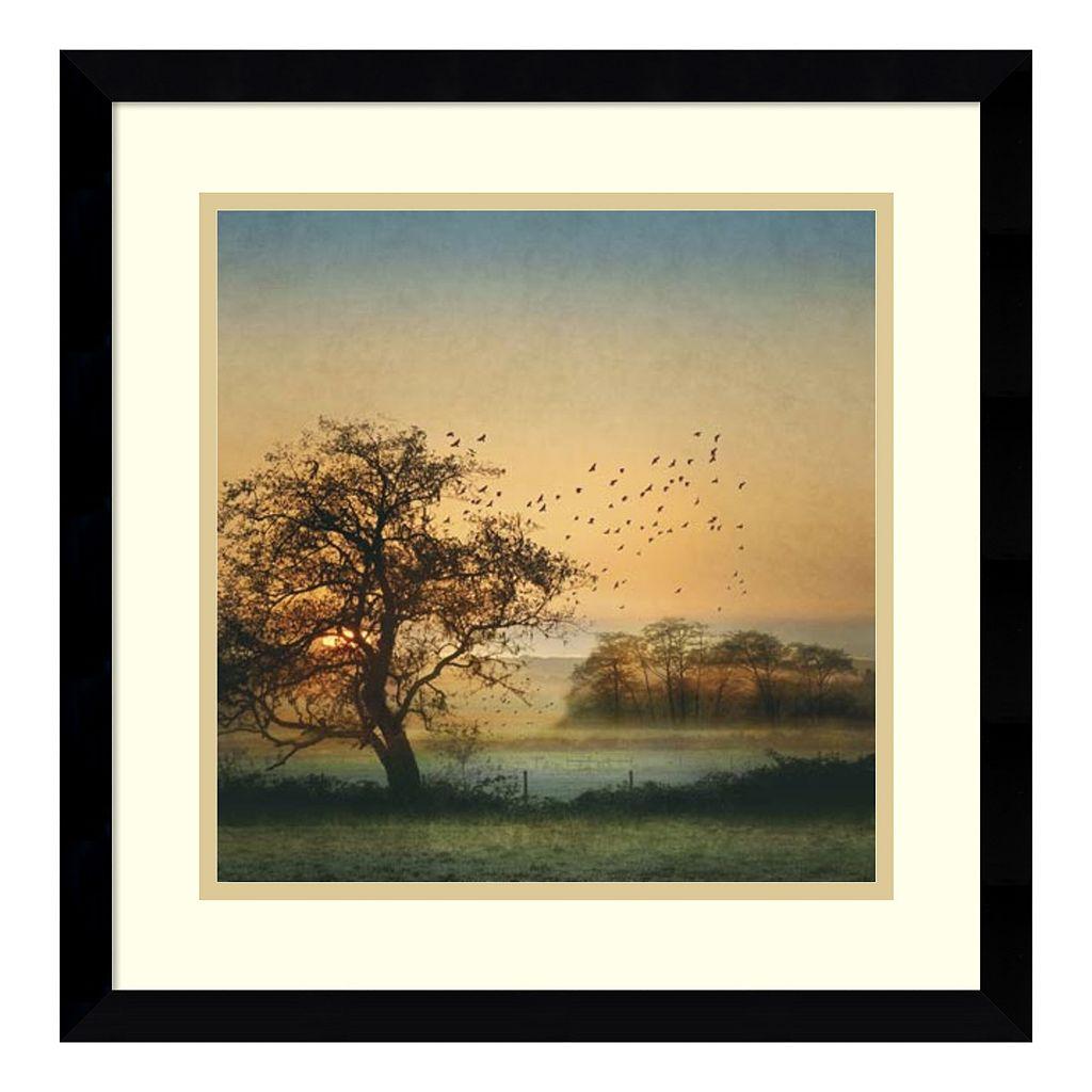 Amanti Art Good By Day Birds Framed Wall Art