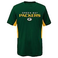 Boys 8-20 Green Bay Packers Mainframe Performance Tee