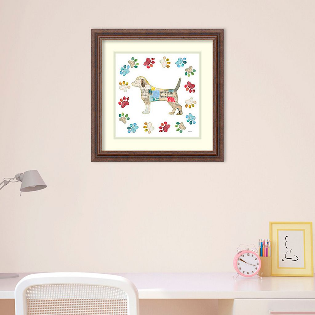 Amanti Art Good Dog IV Framed Wall Art