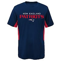 Boys 8-20 New England Patriots Mainframe Performance Tee