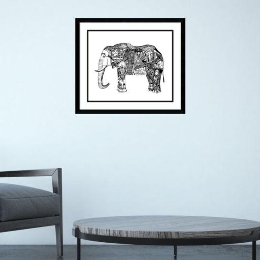 Amanti Art Goodbye Elephant Framed Wall Art