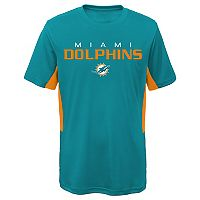 Boys 8-20 Miami Dolphins Mainframe Performance Tee