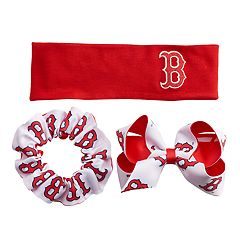 Boston Red Sox 3-Pack Hair Accessory Set