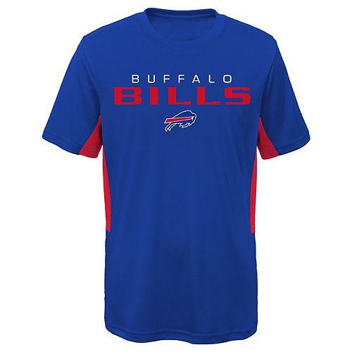Boys 8-20 Buffalo Bills Mainframe Performance Tee