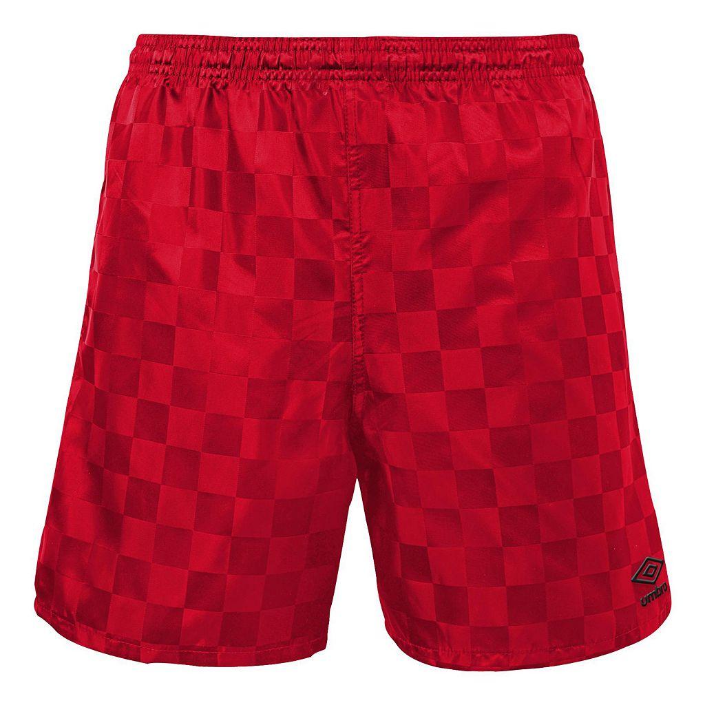 Men's Umbro Checkerboard Shorts