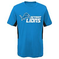 Boys 8-20 Detroit Lions Mainframe Performance Tee