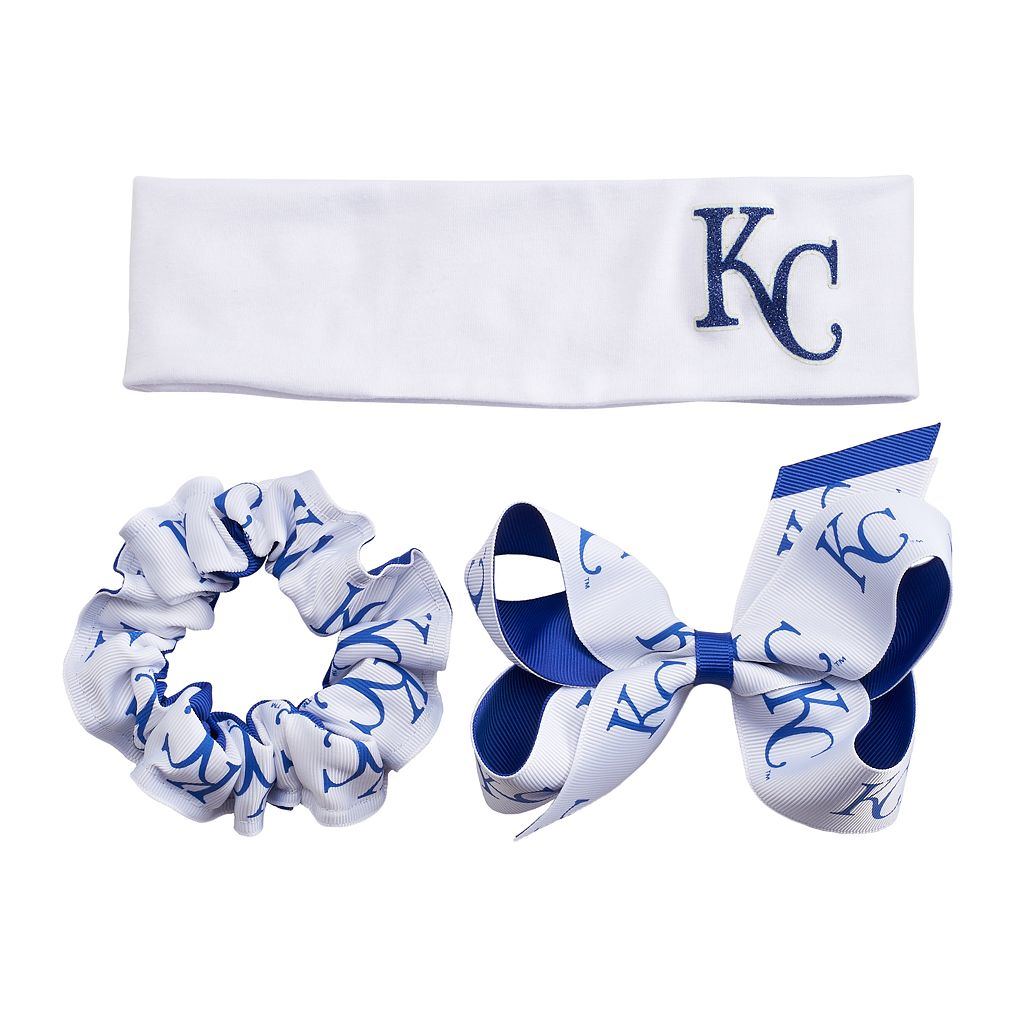 Kansas City Royals 3-Pack Hair Accessory Set