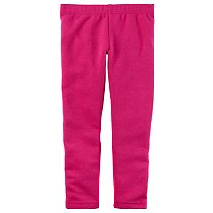 Baby Girl Carter's Fleece-Lined Glitter Leggings