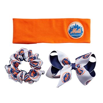 New York Mets 3-Pack Hair Accessory Set