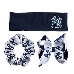 New York Yankees 3-Pack Hair Accessory Set