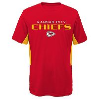 Boys 8-20 Kansas City Chiefs Mainframe Performance Tee