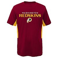 Boys 8-20 Washington Redskins Mainframe Performance Tee