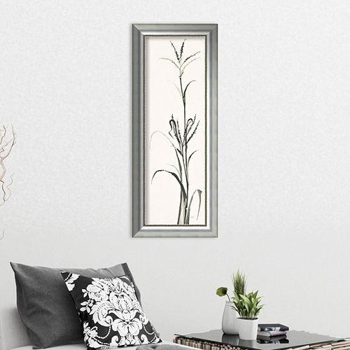 Amanti Art Gray Grasses IV Framed Wall Art