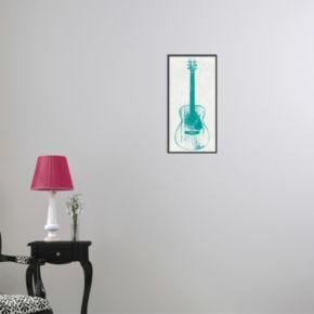 Amanti Art Guitar Collector I Framed Wall Art