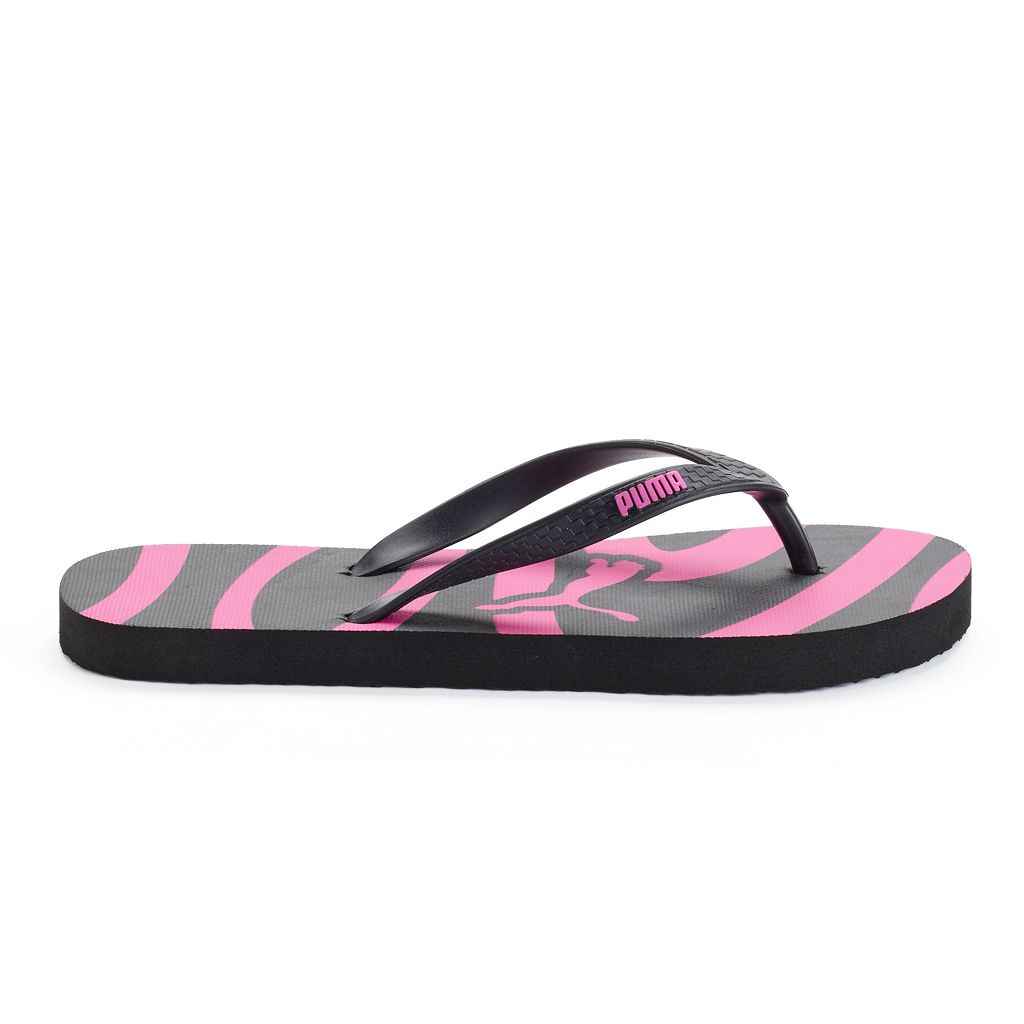 Puma Women's Striped Flip-Flops
