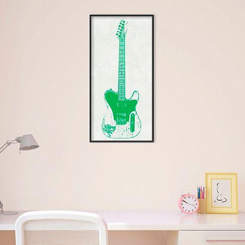 Amanti Art Guitar Collector II Framed Wall Art