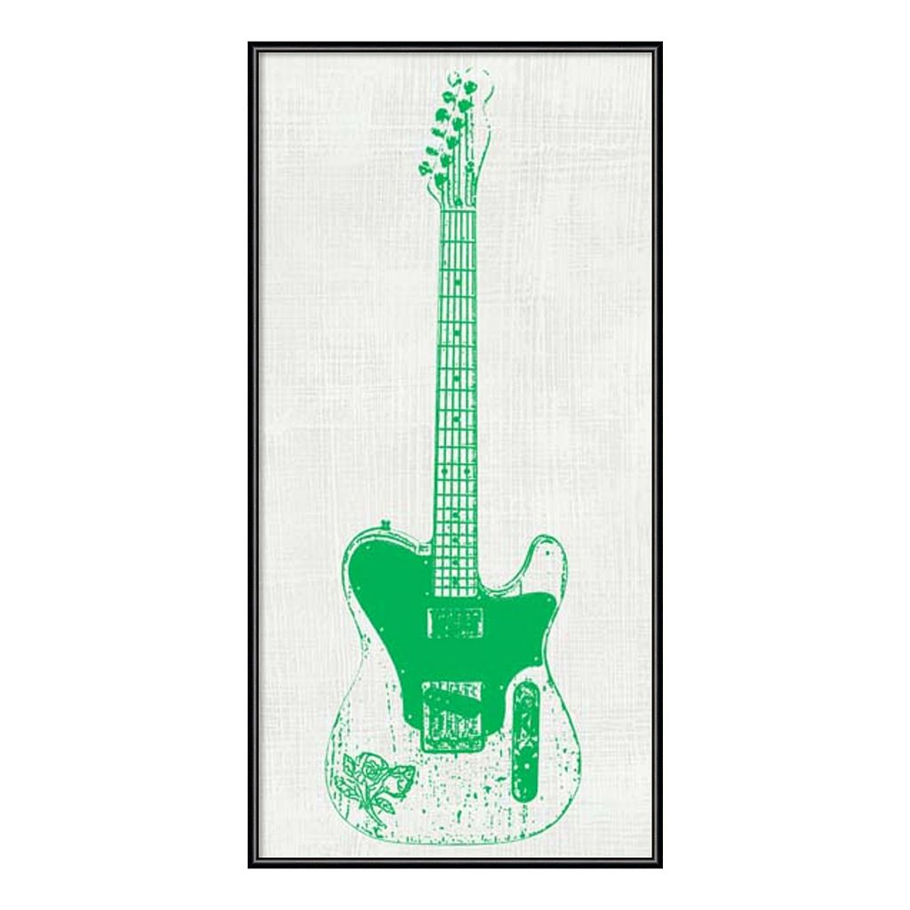 Amanti Art Guitar Collector II Framed Wall Art